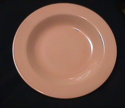 "Fiesta Apricot 12"" Rim Soup-Retired-Homer Laughlin"