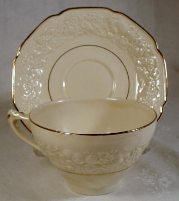 Crown Ducal Golden Glamour Cup and Saucer