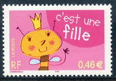Stamp // Timbre France Neuf N° 3463 ** C'est Une Fille