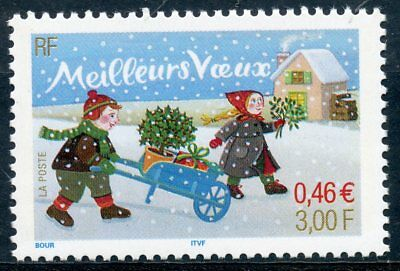 Timbre France Neuf N° 3438 ** Meilleurs Voeux