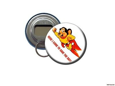 MIGHTY MOUSE Bottle Opener/Keychain