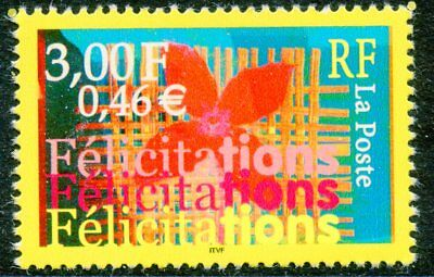 Timbre France Neuf N° 3308 ** Felicitations
