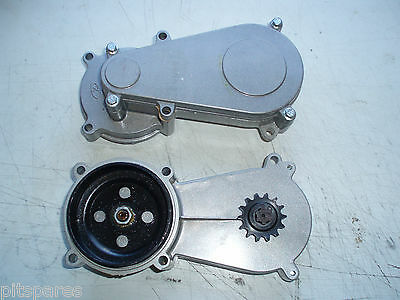 Mini Moto Dirt bike clutch bell and gearbox complete