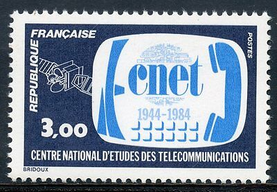 Stamp / Timbre France Neuf N° 2317 ** Telecommunications