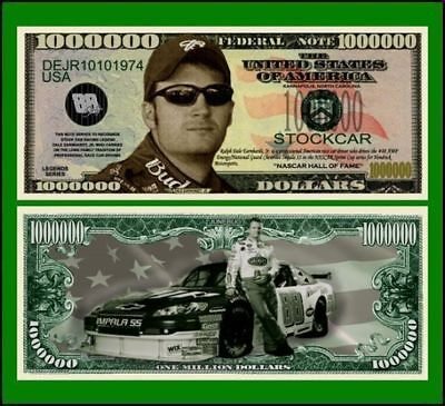 5 Factory Fresh Dale Earnhardt Jr Million Dollar Bill