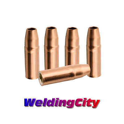 """WeldingCity 5 Nozzles 23-50 (1/2"""") for Tweco Lincoln 200-400A MIG Welding Guns"""