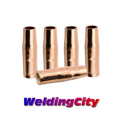 "WeldingCity 5 Nozzles 23-62 (5/8"") for Tweco Lincoln 200-400A MIG Welding Guns"