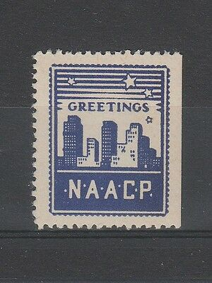 1950's N.A.A.C.P. CHRISTMAS STAMP