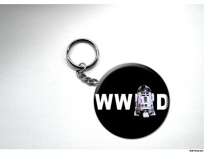 What Would R2-D2 Do STAR WARS Key Chain
