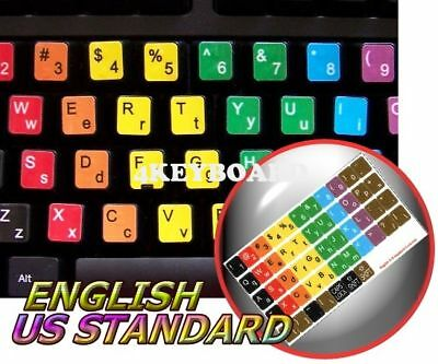 Learning English Colored Keyboard Sticker (Lower&upper)