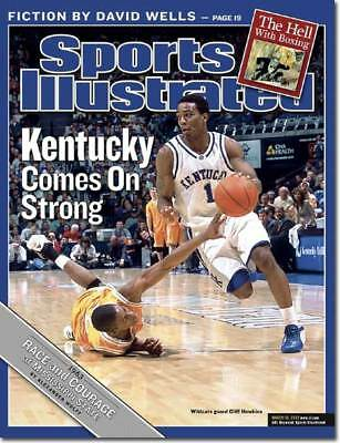 March 10, 2003 Cliff Hawkins Kentucky Wildcats Sports Illustrated