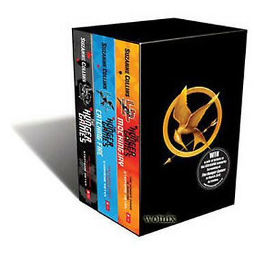 The Hunger Games 3 Books Set Suzanne Collins Mockingjay
