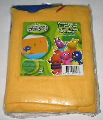 New Embroidered The Backyardigans Fleece Pillow Cover