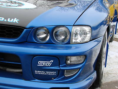 SUBARU IMPREZA STi WRX FOG LAMP COVERS 1999-2000  STi / WRX ABS. HT Autos UK