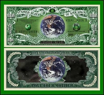 100 Factory Fresh Mother Earth Million Dollar Bill