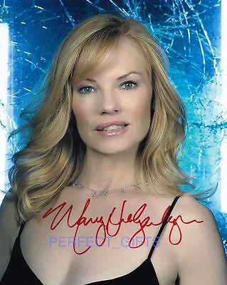 MARG HELGENBERGER Signed Autographed 10x8 PP PHOTO willows crime CSI