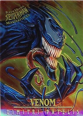 FLEER ULTRA SPIDERMAN LIMITED EDITION CHROME CHASE #8
