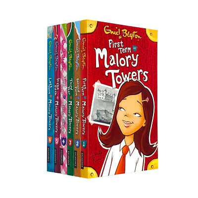 Enid Blyton Malory Towers Collection 6 Books Set Volume 1 to 6