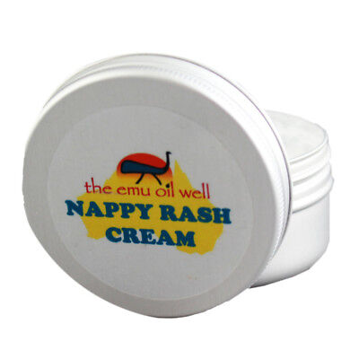 Natural Nappy Rash Cream With Emu Oil Antiseptic Softening & Soothing 50 ml
