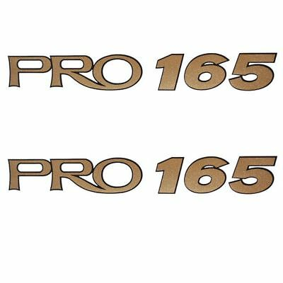 Tracker Pro 165 Boat Decals (Pair)