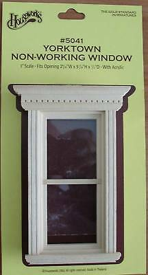 1:12 Scale Houseworks Yorktown Non-Working Window