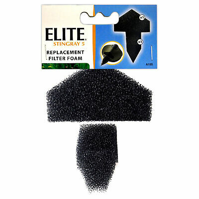 Elite Stingray 5 Fish Filter Replacement Foam Pad