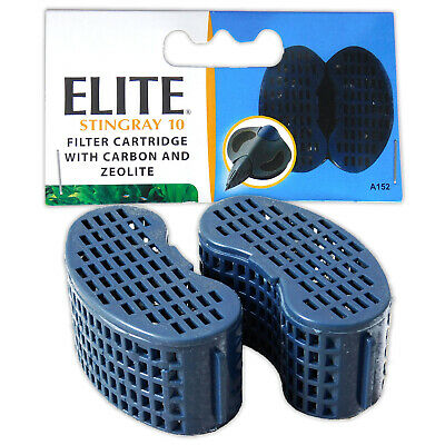 Elite Stingray 10 - Foam Pad Replacement Carbon Media Cartridge