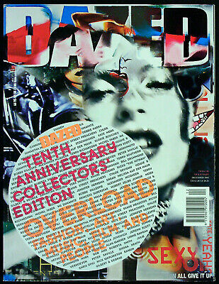 DAZED & CONFUSED Magazine #96 December 2002 TENTH ANNIVERSARY COLLECTORS EDITION