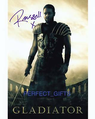Russell Crowe Gladiator Signed Pp Photo Maximus Robin