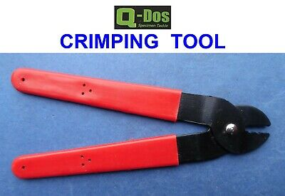 Crimping Tool For Single Double Mono Wire Trace Crimps