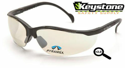 Pyramex V2 Readers +1.5 Safety Glasses Clear Mirror
