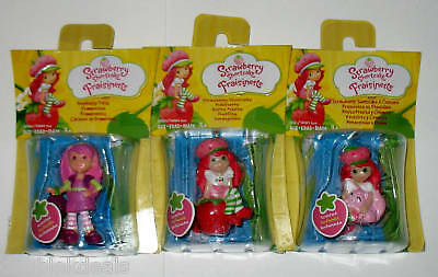 (3) ★ Strawberry Shortcake ★ Scented Figures Raspberry