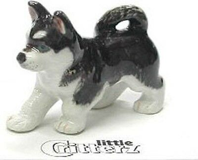 LC814 - little Critterz  Siberian Huskey (Buy any 5 get 6th free!)