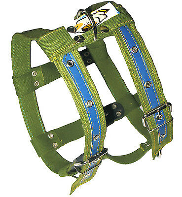 """Pulling Cotton Dog Harness 25""""-31"""" chest for Large Dogs Rottweiler Bullterrier"""