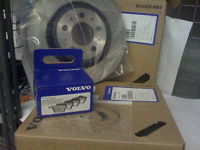 Volvo XC90 Rear Brake Disc's Pair and Pads Genuine