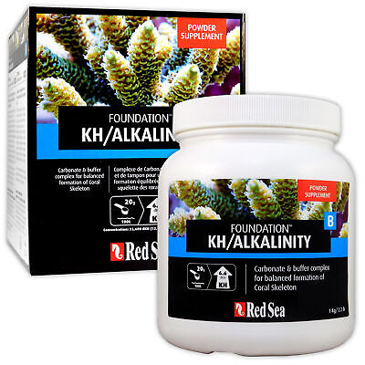 Red Sea Reef Foundation B 1Kg Buffer Powder Supplement Coral Marine Aquarium