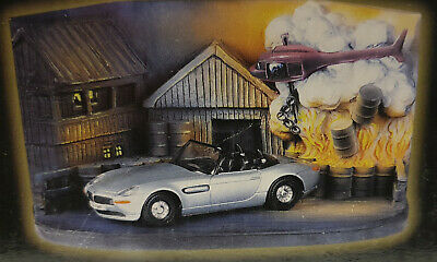 JAMES BOND : BMW Z8 & Diorama from the World is not Enough die cast model (XP)