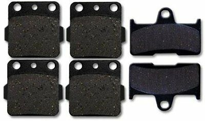 YAMAHA Front + Rear Brake Pads Grizzly 660 (02-08) NEW