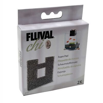 Fluval Chi Fish Tank Replacement Filter Foam Pad 2Pk