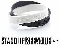 Nike Stand Up Speak Up braccialetto - wristband RARO - ultima chance