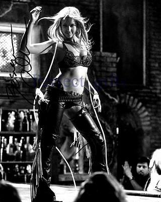 JESSICA ALBA SIN CITY 2 A DAME TO KILL FOR SIGNED PHOTO PRINT AUTOGRAPH POSTER