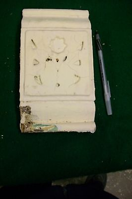 Architectural Salvage Gingerbread Block Floral 1 one