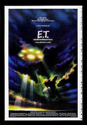 E.T. EXTRA TERRESTRIAL * CineMasterpieces ADVANCE PRINTERS PROOF MOVIE POSTER