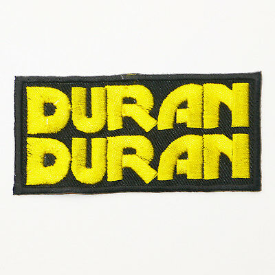 DURAN DURAN - Large Iron-On Embroidered Patch...