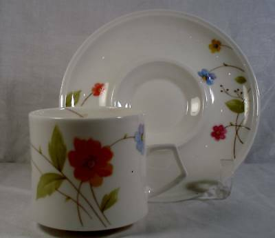 Mikasa Just Flowers Cup and Saucer