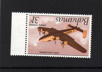 BAHAMAS 1985 31c CROWN TO RIGHT OF CA SG 701w MNH.