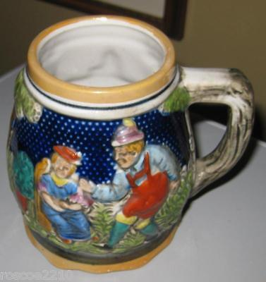 Musical German Style Mug/Stein- Very Unique!