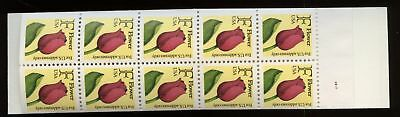 USA 1991 SG#SB148 Flowers, Yellow Cover Booklet