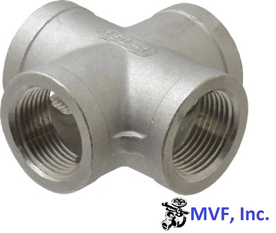 """Cross 150# 304 Stainless Steel 1/4"""" Npt Fitting   871Wh"""