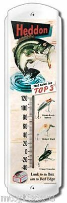 Vintage Style Outdoor Heddon Thermometer # 51900